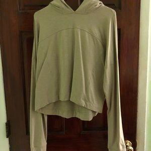 EUC Lululemon Crop hoodie, size 12